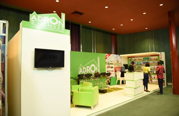 Adron exhibition at Abuja intenational housing show